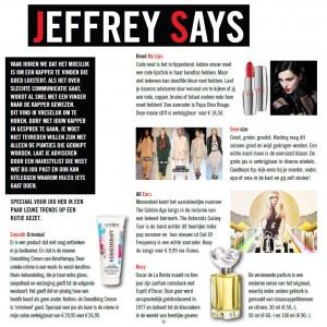Jeffrey Says - Jan 2013