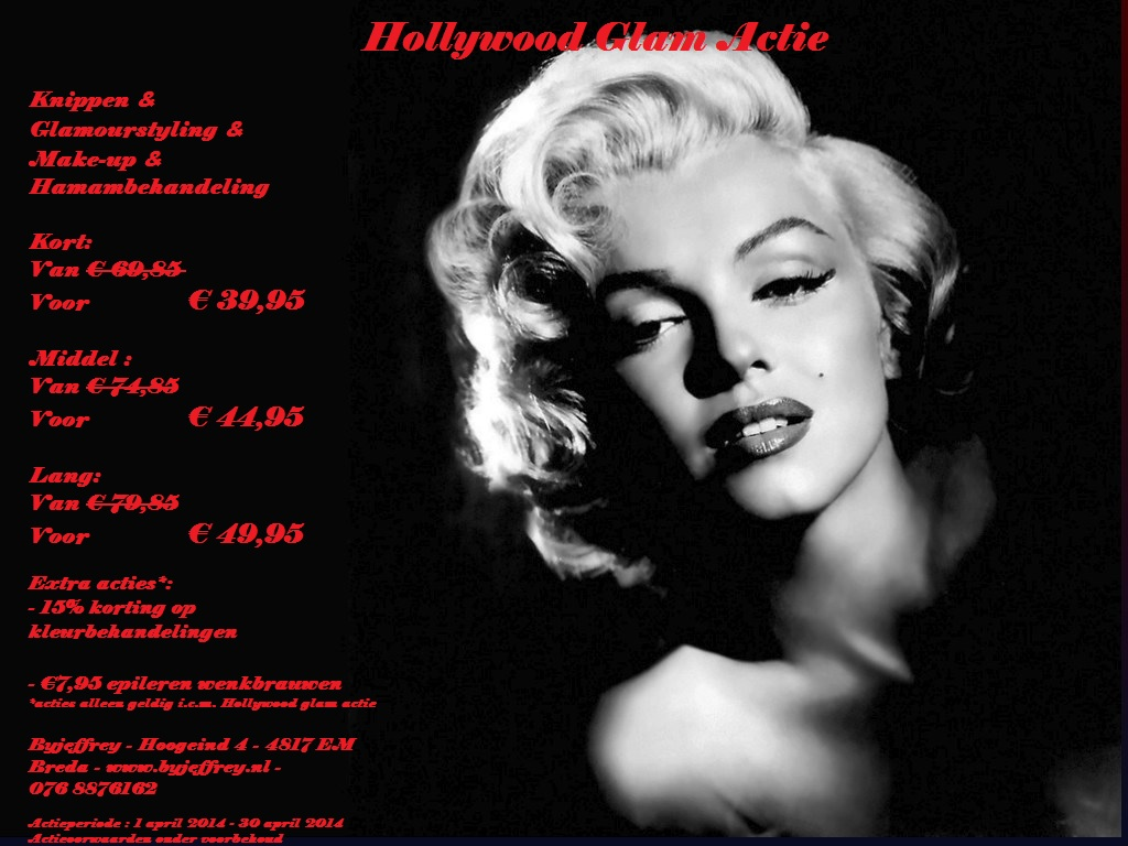 Hollywood Glam Actie